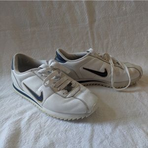 Nike Cortez White/Blue/Gold Women's Size 9